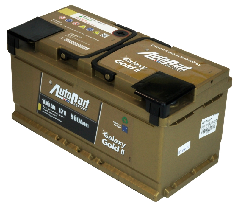 AKUMULATORS 100AH 12V GALAXY GOLD R AUTOPART