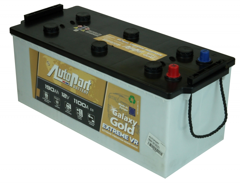 AKUMULATORS 190AH 12V GOLD L AUTOPART