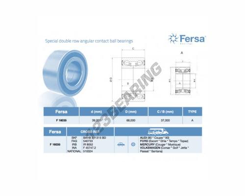 GULTNIS F16035 FERSA