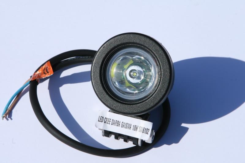 LED CREE DARBA GAISMA 10W SM6102 GSL