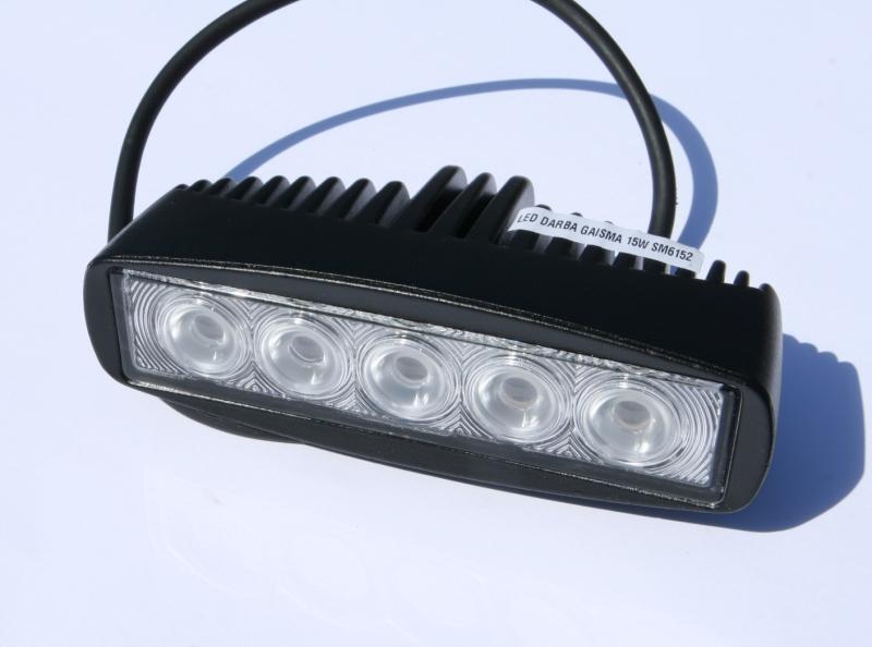 LED DARBA GAISMA 15W SM6152 GSL