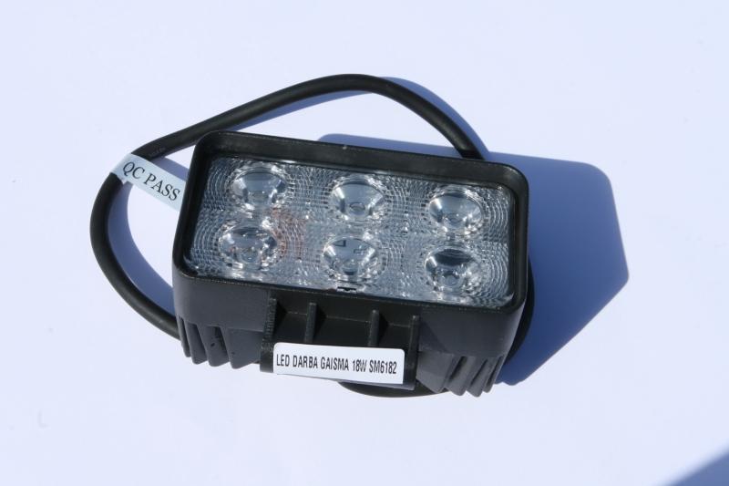 LED DARBA GAISMA 18W SM6182 GSL