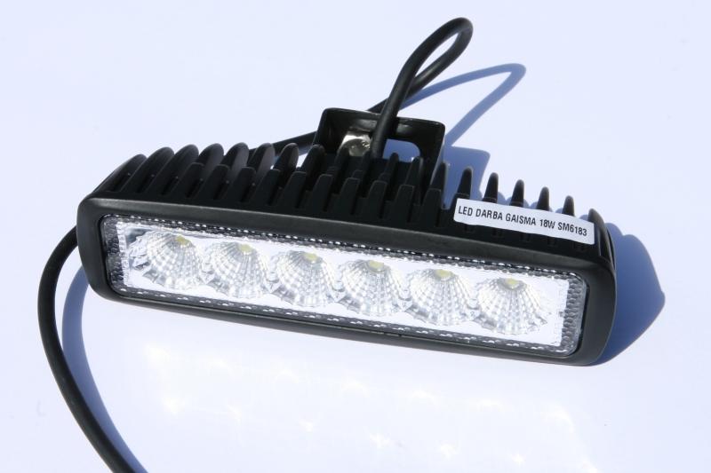 LED DARBA GAISMA 18W SM6183 GSL