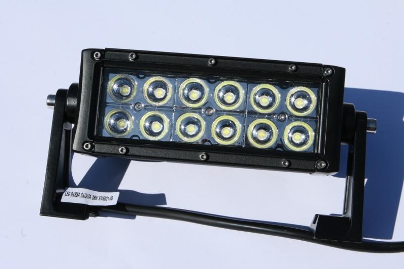LED DARBA GAISMA 36W SM6021-36 GSL